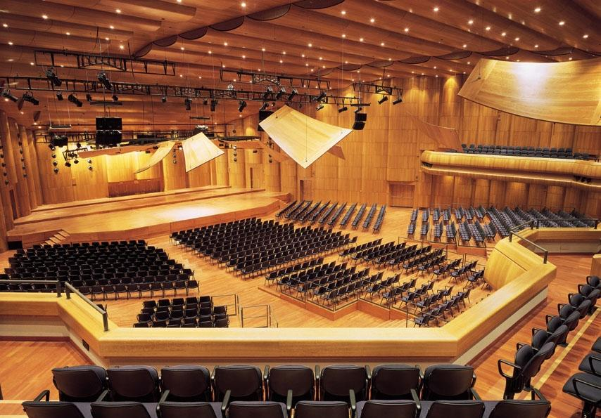 Auditorium Stravinski Montreux Switzerland Audio